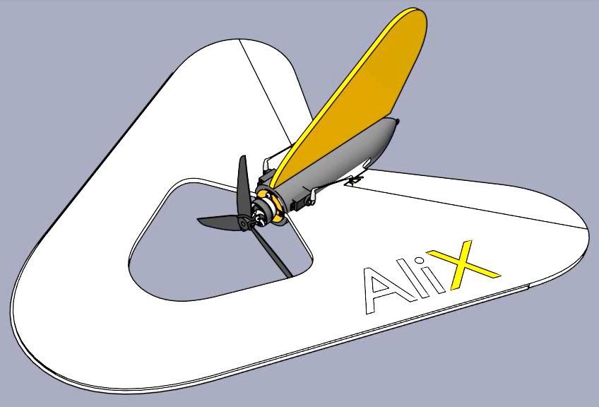AliX in 3D